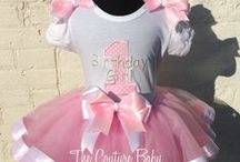 Girls Birthday Outfits & Accessories / Baby Birthday Outfits, personalized baby birthday Outfits, first birthday baby clohes