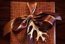 Gift Wrap / Creative ways to wrap presents!