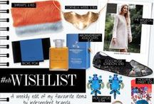 #shwishlist / A weekly edit of my favourite items by independent brands..