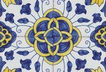 Azulejos / Portuguese blue tiles