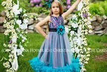 Girls Feather Dress / Girls #Feather #Dress up to size 8