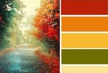 Autumn Palette / www.rubyslippers.co.uk