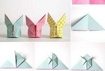 Origami / Papierfaltanleitungen