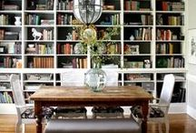 Eat & Read: Library/Dining Room