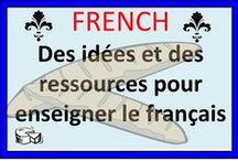 French / Activities for French Second Language classes and French Immersion.  Please limit pins to 5 per day.  Merci!