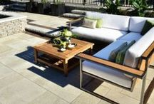 Patios & Outdoor Living / Unilock outdoor living spaces create a place to experience the warmth of family and friends. Fireplaces, fire pits, outdoor kitchens and more! / by Unilock