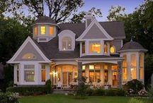 Home is where the heart is. / My dream house ideas.  / by Heidi Weaver