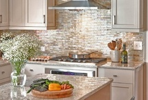 Kitchen Backsplash & Countertops / by Kitchen Cabinet Kings