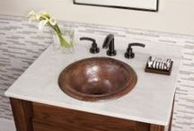 KCK Bathroom Vanity Tops & Backsplashes / by Kitchen Cabinet Kings