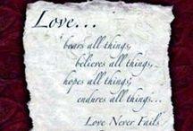 Love Poems / by Dean White