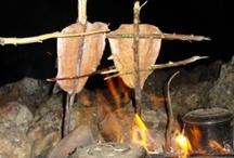 Outdoor cooking (woodfire) / Asado