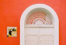 Details / Beautiful ceilings, doors, stairs, locks, doorknobs, designs & more!!