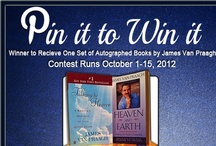 Pin it to Win it Contest! / Congrats to Jocelyn for winning the James Van Praagh Pin it to Win it contest! Want a chance to pin and win again? Comment, like, and repin from this board to let us know how much you are still interested! And THANK YOU to everyone who participated in our first Pinterest contest!