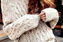 So in love with wool ❤ / Knit outfits