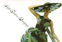 Women's Fashion in Switzerland / Swiss Fashion through vintage posters