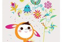 Illustration 3 and Me / Illustration, art for kids, children's book illustration, cuteness