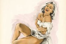 Beautiful Pin Up / Pin up vintage posters