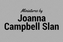 Miniatures by Joanna Campbell Slan / I love turning trash into treasure, so most of my miniature projects have humble beginnings.