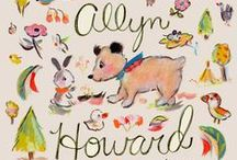 Allyn Howard Surface Design / Art and designs for products - fabric, wallpaper, gift wrap, home decor and more ...