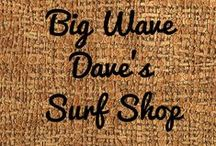 """Big Wave Dave's Surf Shop: A Miniature Contest Entry (1:12 scale) / 2015 Creatin' Contest Entry. (Honorable Mention) A miniature (1:12) project to reflect the vanishing lifestyle of """"old Florida."""" Made by Joanna Campbell Slan."""