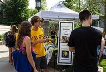 Ways to Get Involved / The college experience is all about what you make of it, so get involved and get active on campus, in the Iowa City community, and beyond!