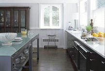 Kitchens / Kitchens, cabinets, finishes / by Melinda Dame Christensen