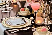 Tabletop / Table settings, tablescapes, dinnerware, flatware, floral arrangements.. Anything for the table, accessories, products / by Melinda Dame Christensen