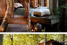 magical garden spaces and cozy forts