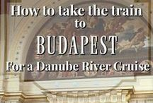 Budapest / Take a tour of Budapest, Hungary with all of its art, architecture, cafes, excellent restaurants and of course, mineral baths.