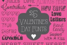 Fonts and More / Fun fonts, printables & all things technological  / by αsнℓεყ Borcнαrdт
