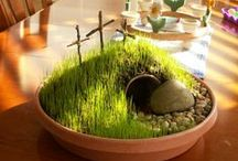 On the third day, He rose from the dead... / Lenten and Easter Activities, recipes, decor.