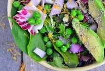 Salad Love / Inspiration to eat more greens! / by Gluten-Free Goddess Karina