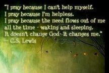 Prayer...Never a LAST resort! / Always pray 1st! Talk to God for guidance...