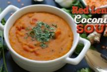 Vegan Soups / Easy and delicious soups to keep you cozy!