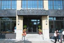 Acton Institute Building / The Acton Institute purchased and renovated a historic building in downtown Grand Rapids, MI in 2012-2013. We are thrilled to be part of the renaissance of our beautiful city. We are located at 98 E. Fulton, Grand Rapids, MI. / by Acton Institute