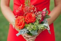 Weddings: Bold Color / Vivid wedding color - jewel tones, neons - the bolder the better