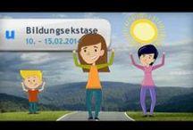 Bildungsekstase / Online-Aktionswoche von ununi.TV in der 2. Februar-Woche