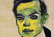 Egon Schiele | Art / My favorite non-Baroque artist