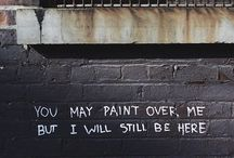 Writing on the walls