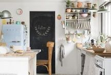 My kinda home / Bit of boho , jewel colours , comfy , lived in , white .... Ideas