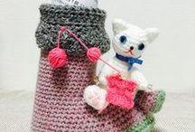 そらのいと工房 / designed by little gadget / Atelier little gadgetの編み物作品です。