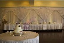 Wedding Drapery / Take a look at what 219 Productions can do with some drapery.