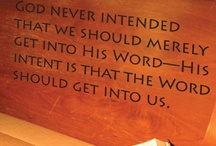 Words of wisdom / by Linda Johnston
