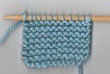 De punto / Knit Punto Ganchillo Crochet