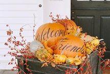 Autumn and Halloween