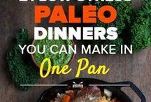 FOOD // Paleo / paleo and Whole 30 recipes