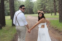 Wedding in the woods / Our fairytale wedding in the woods! One beautiful day we will never forget. July 12, 2014 Jemez New Mexico. Jesus at the center of it all. / by Amber Anderson