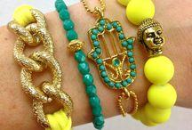 Jewelry- Bracelet ideas / by Vika Rose