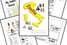 Homeschool Geo & Cultures - Italy