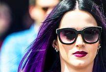 Katy Perry / Nossa musa dos cabelos coloridos!